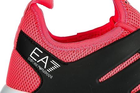 Emporio Armani EA7 Zapatos Zapatillas de Deporte Mujer Nuevo Minimal Running Ros: Amazon.es: Zapatos y complementos