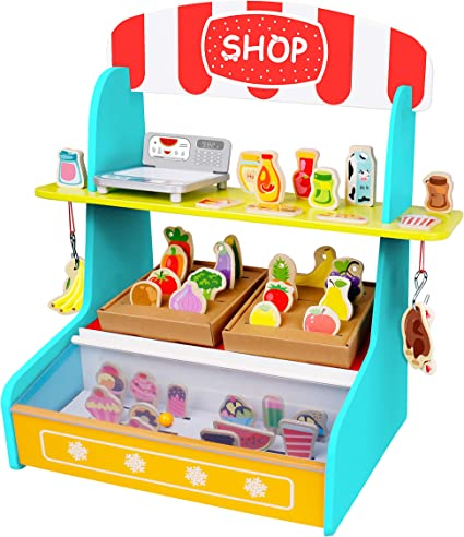 1//12 Dollhouse Miniature Display Grocery Store Stall Shop Shelf Cabinet Counter