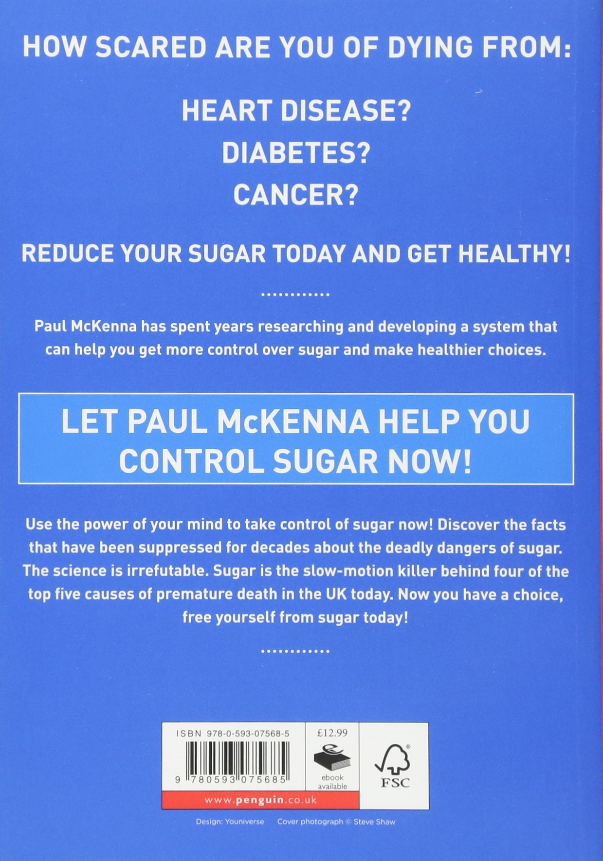 Can Paul McKenna Fix YOUR Sugar Addiction pics