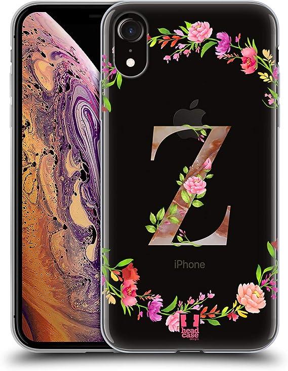 iPhone 6s Head Case Designs Letter M Decorative Initials Soft Gel ...