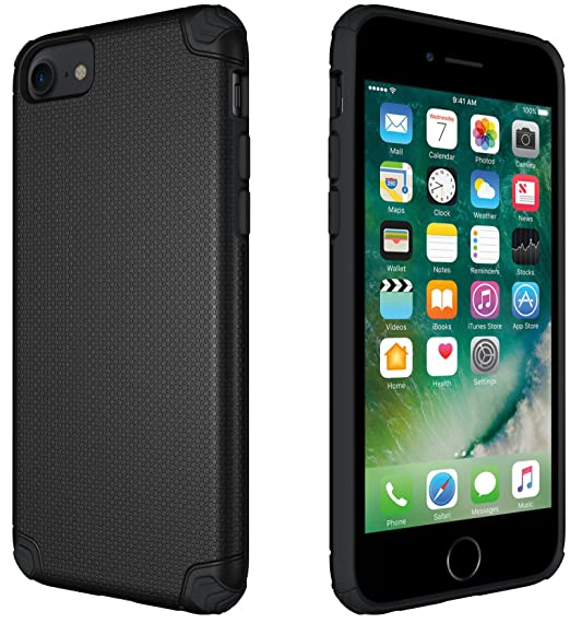 eb87ffdcf1 CellEver Slim Guard Pro Heavy Duty Case Protective Shock-Absorbing  Scratch-Resistant Drop Protection