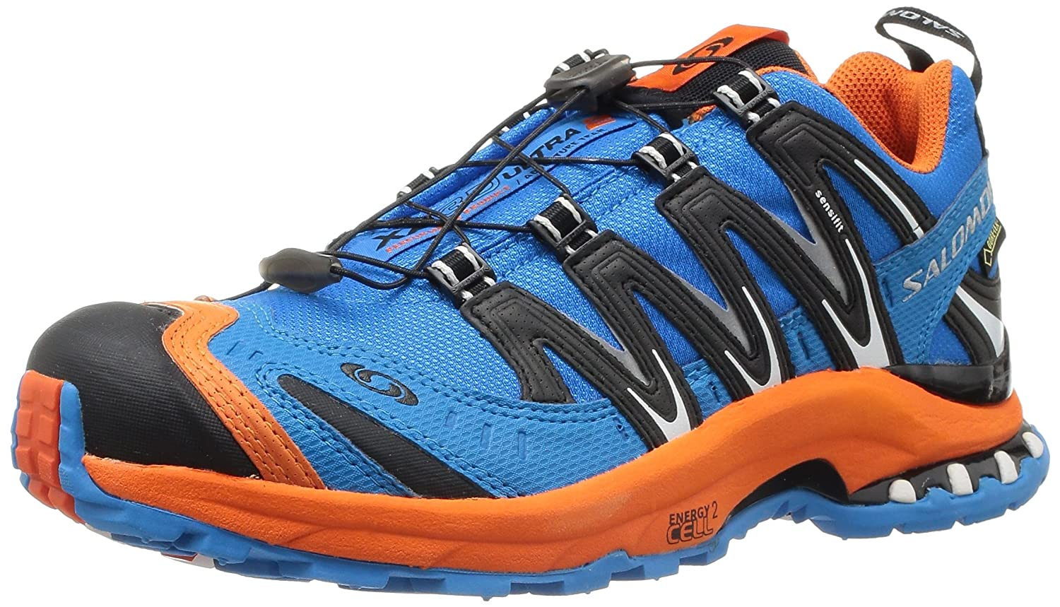 Salomon Men's Xa Pro 3D Ultra 2 GTX Running Shoes, OrangeBlackBlue, 7 UK