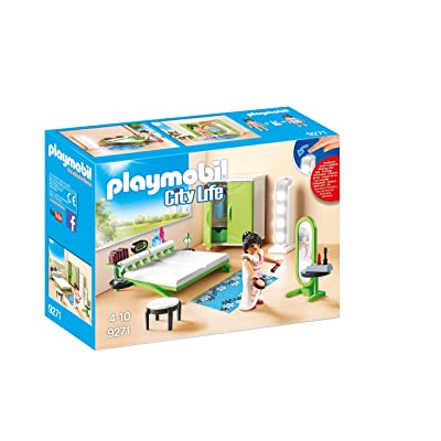 PLAYMOBIL Bedroom Set Building Set: Toys & Games