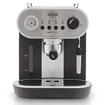Gaggia Carezza De LUXE Semi-Automatic Espresso Machine