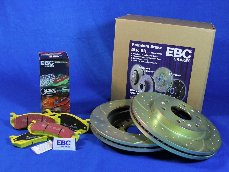 EBC S5KF1264 Stage-5 Superstreet Brake Kit