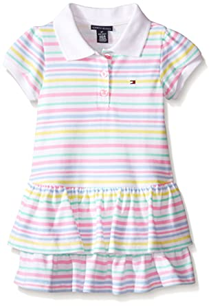 Amazon Com Tommy Hilfiger Baby Girls Printed And Solid Pique Knit