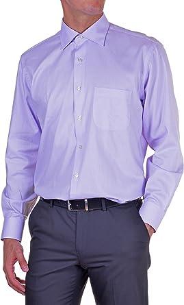 APLOMB Camisa Hombre Classic Lila 46: Amazon.es: Ropa y accesorios