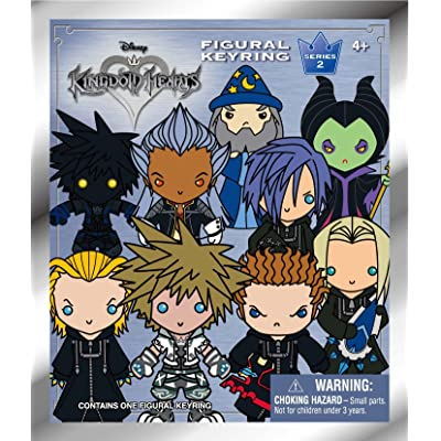 Disney Kingdom Hearts Series 2 - 3D Key Ring Collectible Blind Bag Key Accessory: Toys & Games
