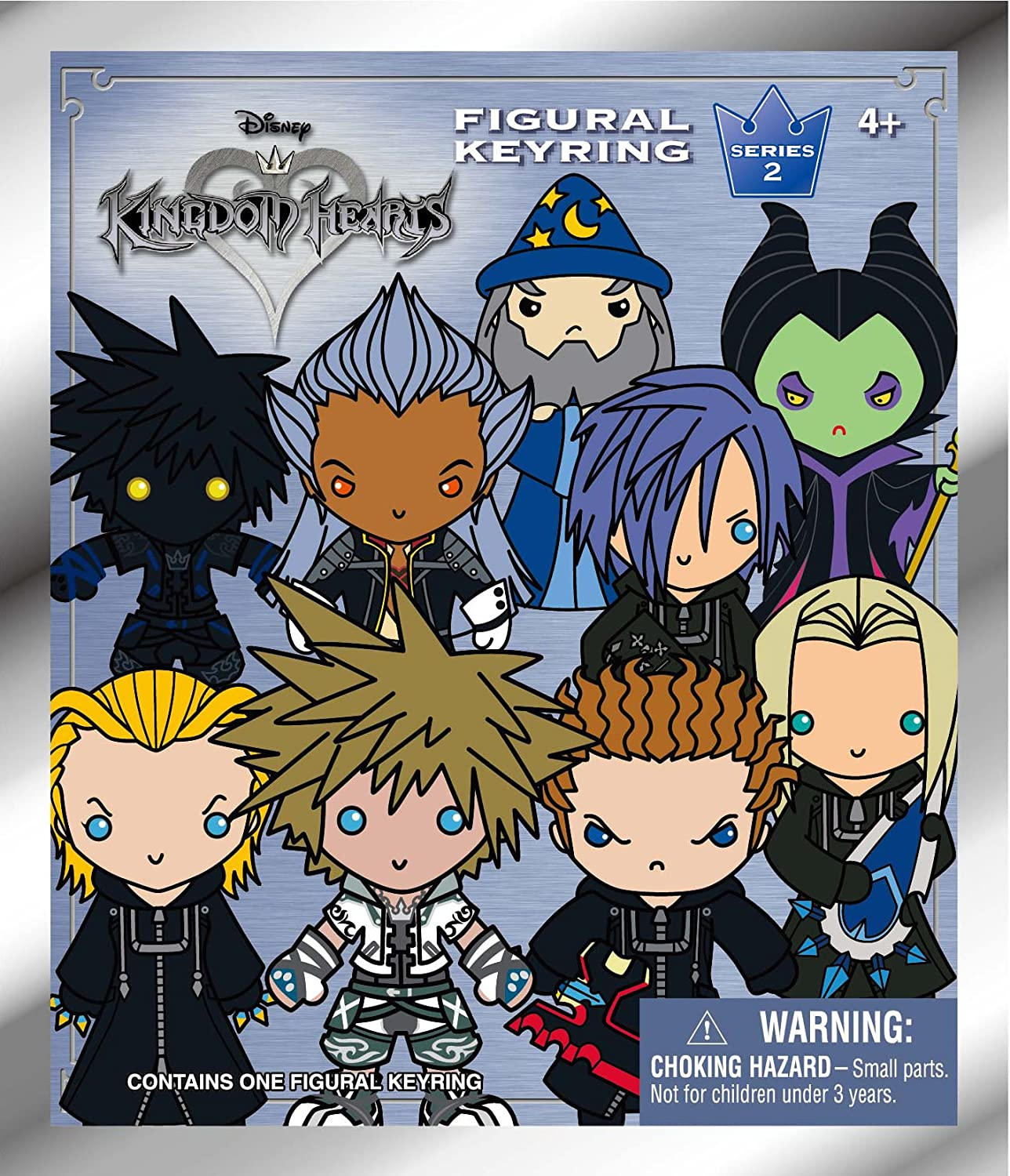 Disney Kingdom Hearts Series 2-3D Key Ring Collectible Blind Bag Accessory Monogram International 80165