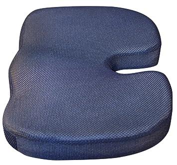 the tushy cushion ergonomic coccyx memory foam seat cushion with