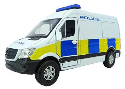 Mercedes Benz Sprinter >> Amazon Com Die Cast Police Van 2015 Mercedes Benz Sprinter Panel