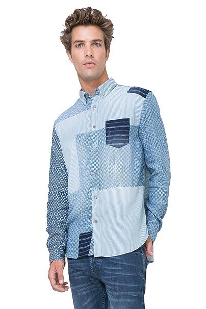 Desigual - Camisa Casual - para Hombre 5175 L