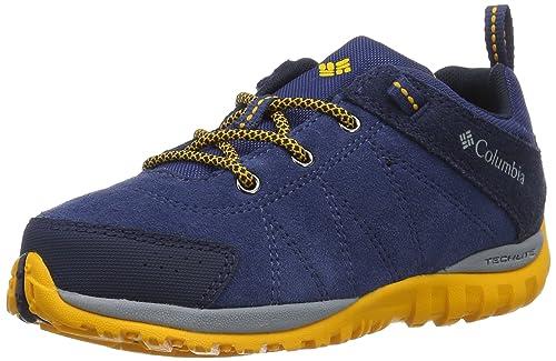 Columbia Youth Venture, Zapatillas de Deporte Exterior para Niños, Azul (Carbon/Super Solarize), 37 EU: Amazon.es: Zapatos y complementos
