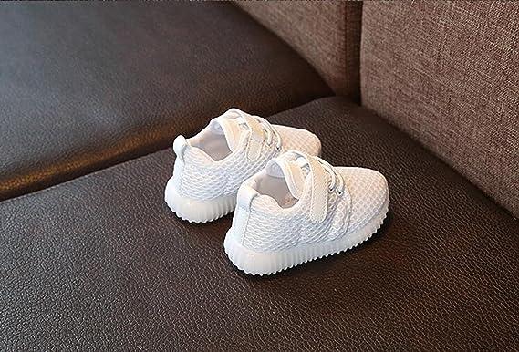 21, Schwarz Junge Girls blinken Sport Running Sneaker Baby Shoes Halloween Stillshine LED Schuhe Kids Light Shoes