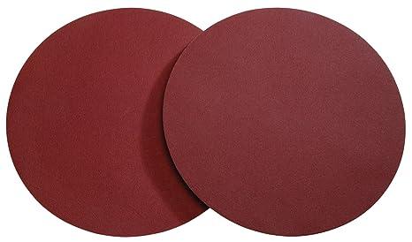 Woodstock D1342 20 Inch Diameter PSA 60 Grit Aluminum Oxide Sanding Disc 2