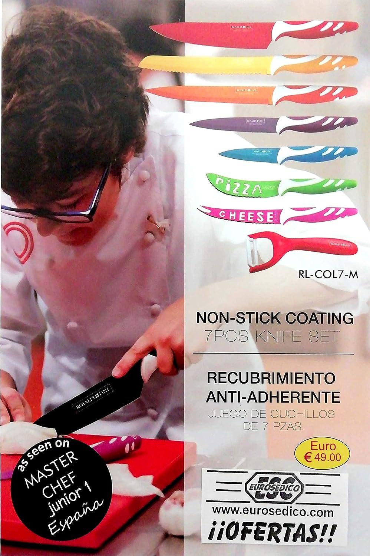 Compra EUROSEDICO / Juego de Cuchillos de Colores/Promoción Master ...