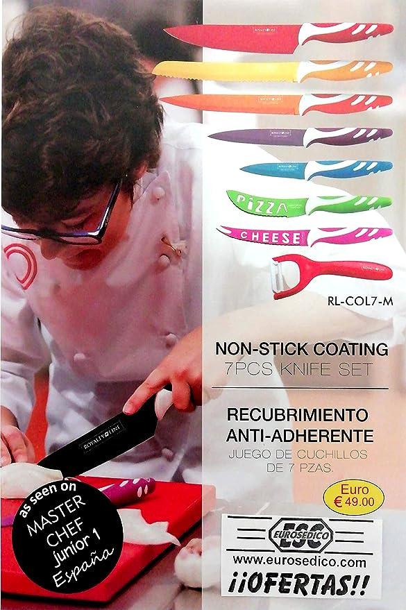 Compra EUROSEDICO / Juego de Cuchillos de Colores/Promoción ...