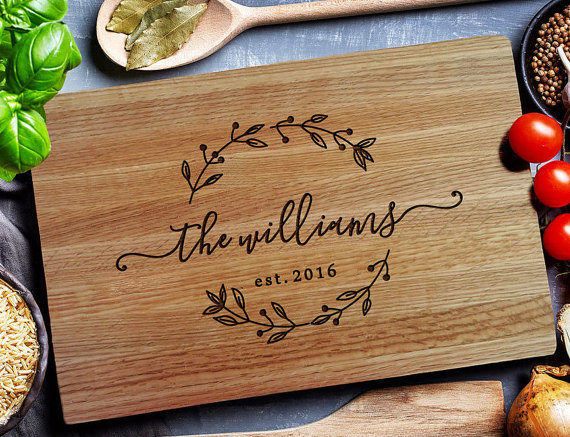 Custom Cutting Board personalized cutting by EngravedSensations