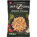 Infuzions Veggie Straws Sour Cream & Herb, 12 x 110 g