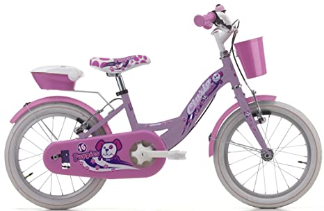 Bicicletta Cicli Cinzia Puppies Da Bambina Telaio In Acciaio Due