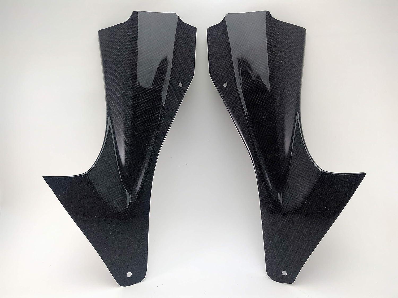 2006 2007 Yamaha YZF R6 100% Carbon Fiber Inner Dash Air Ram Intake Inlet Tube Duct Cover Panel Fairings