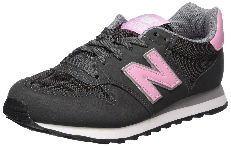 New Balance 500, Zapatillas para Mujer 43 EU|Gris (Grey/Pink Gsp)