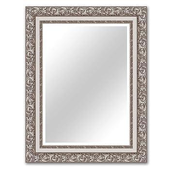 Roller Badspiegel.Roller Spiegel Nizza Silber 70x90 Cm Amazon De Kuche Haushalt