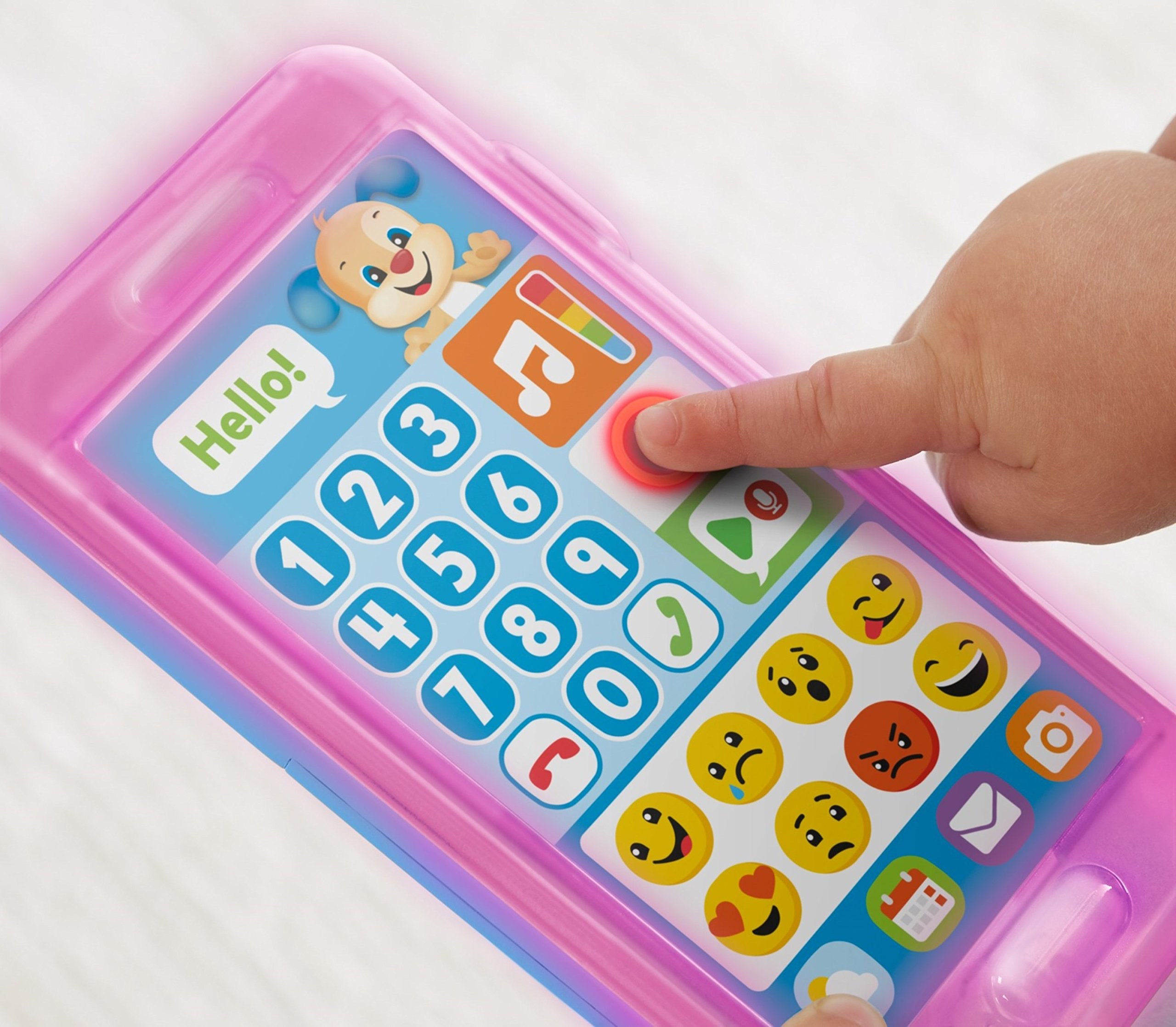 Fisher-Price Laugh & Learn Leave A Message Smart Phone, Puppy by Fisher-Price (Image #4)