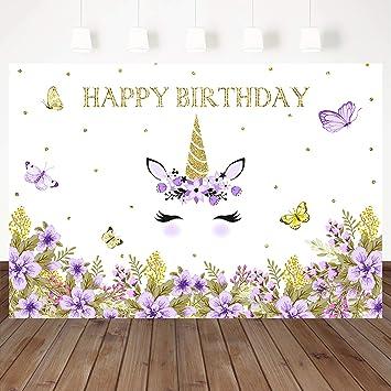 Amazon.com: Mehofoto - Fondo para fotografía de cumpleaños ...