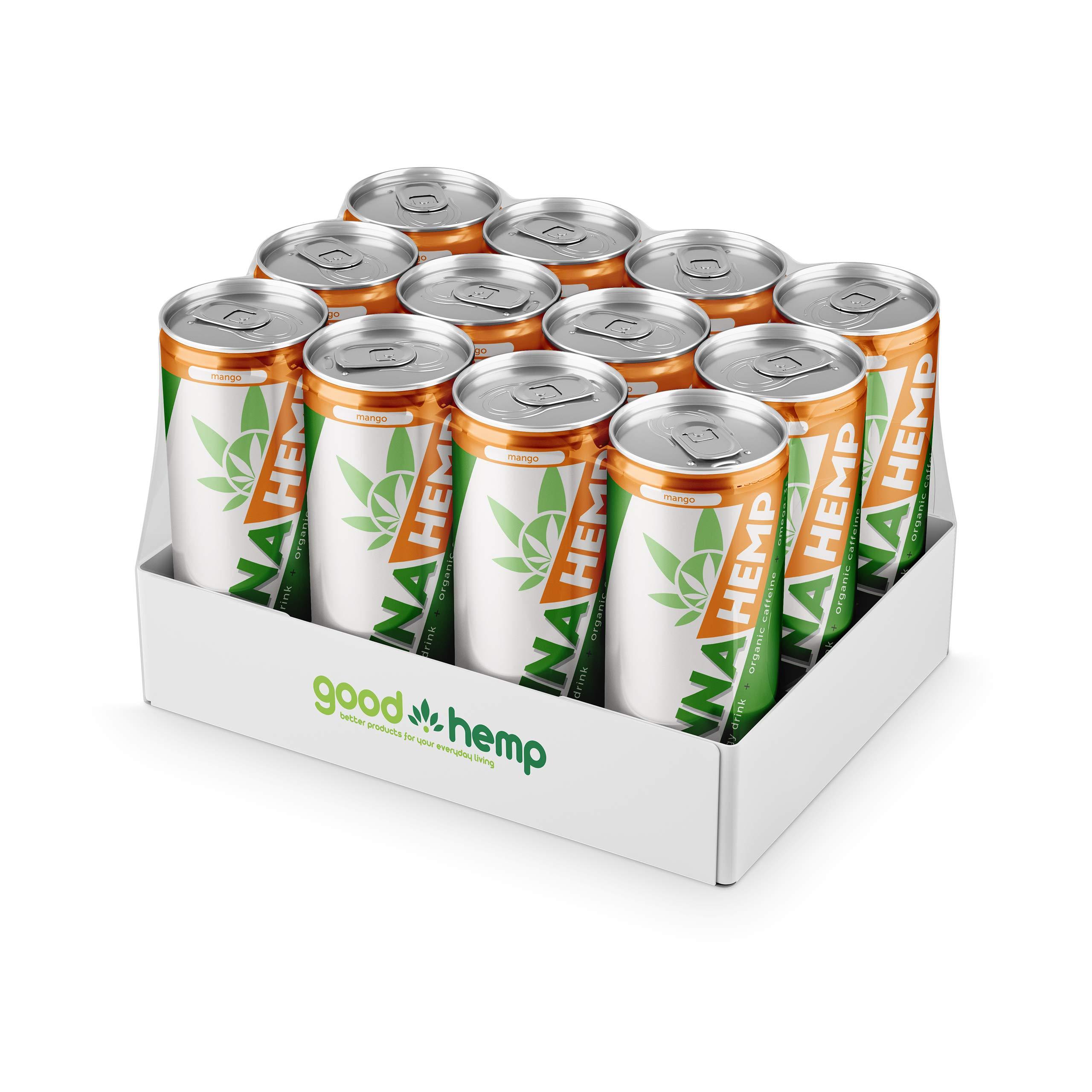 Canna Hemp Infused Energy Drinks