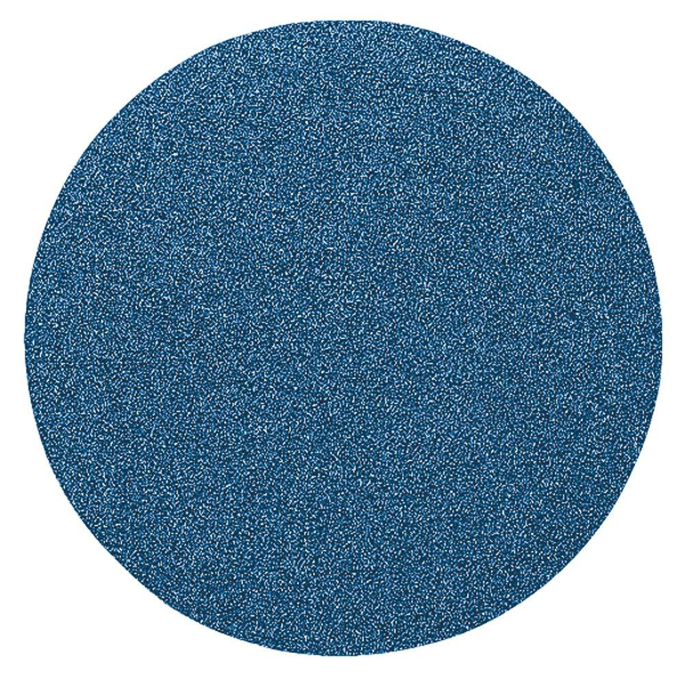 PFERD 47570 Pressure Sensitive Adhesive Disc, Zirconia Alumina Z, 6'' Diameter, 36 Grit (Pack of 50)