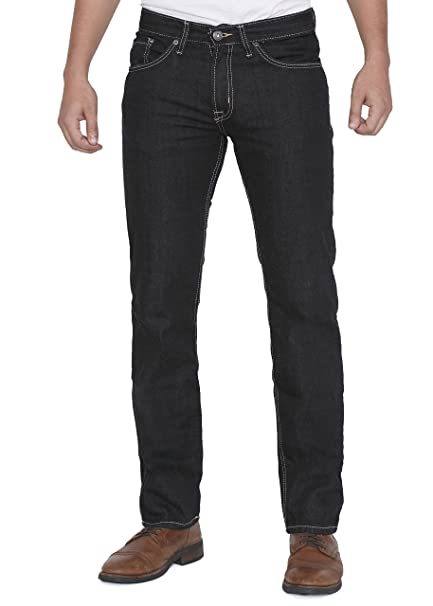 Amazon.com: Jordacshe para hombre Slim Fit Jeans Denim azul ...