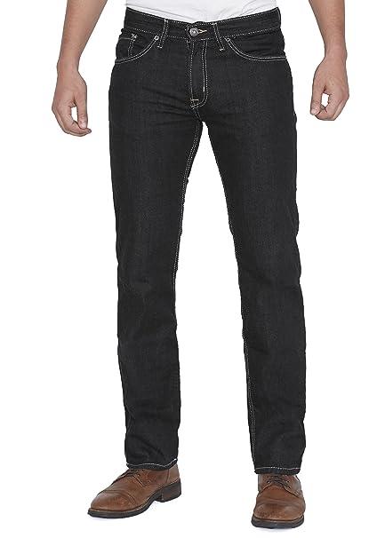 Amazon.com: Jordacshe para hombre Slim Fit Jeans Denim azul ...