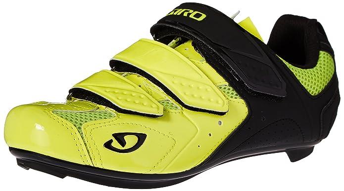 df13743bfd7 Giro Men s Treble II Highlight Yellow Matte Black Bike Shoe - 42 M EU   Amazon.in  Shoes   Handbags