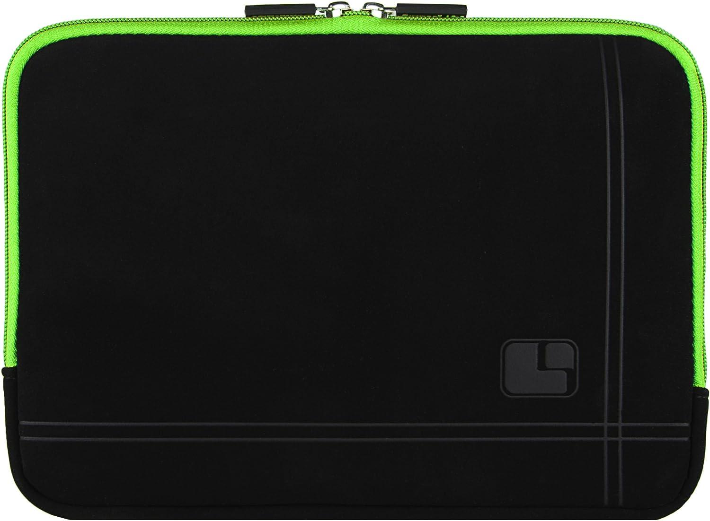 8 inch Black Green Tablet Bag Carrying Case for Lenovo Tab 4, 4 Plus, Yoga Tab 3