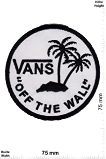 Parches - Vans Off The Wall - Round -Cool Brands - Vans - Parche Termoadhesivos