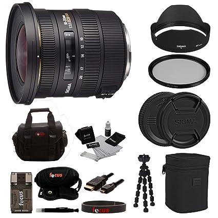 Amazon.com : Sigma 10-20mm f/3.5 EX DC HSM Autofocus Zoom Lens for ...
