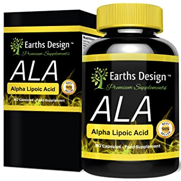 d13b56dbb88f Acide Alpha-Lipoïque 250mg - AAL - Antioxydant - Alpha Lipoic Acid - 90  Capsules