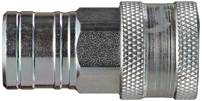 201277-2 1//4 NPTF Dixon 2AGF2-PV 1//4 AG Coupler Steel Poppet Valve