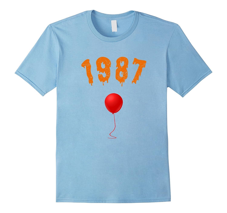 Halloween Shirt For Born In 1987 30th Birthday Shirt Age 30-FL