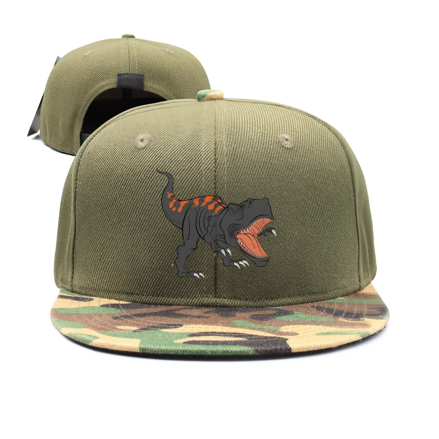 Dynamic Culture And Sporting The Fierce Dinosaur Children's Sun Protection,Casual,Summer Baseball Adjustable Mesh Hat Cap