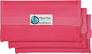 product image for Planet Wise Tint Snack Bag - 3-Pack - Hook and Loop (Pink)