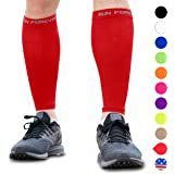 Calf Compression Sleeves - Leg Compression Socks for Runners, Shin Splint, Varicose Vein & Calf Pain Relief - Calf Guard…
