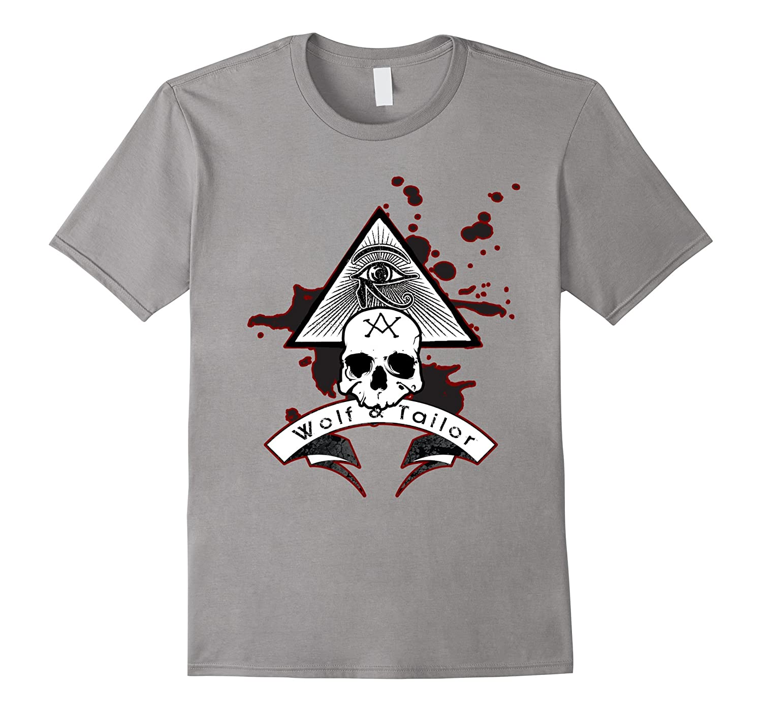 Wolf and Tailor - Occult Skull T-Shirt-TD