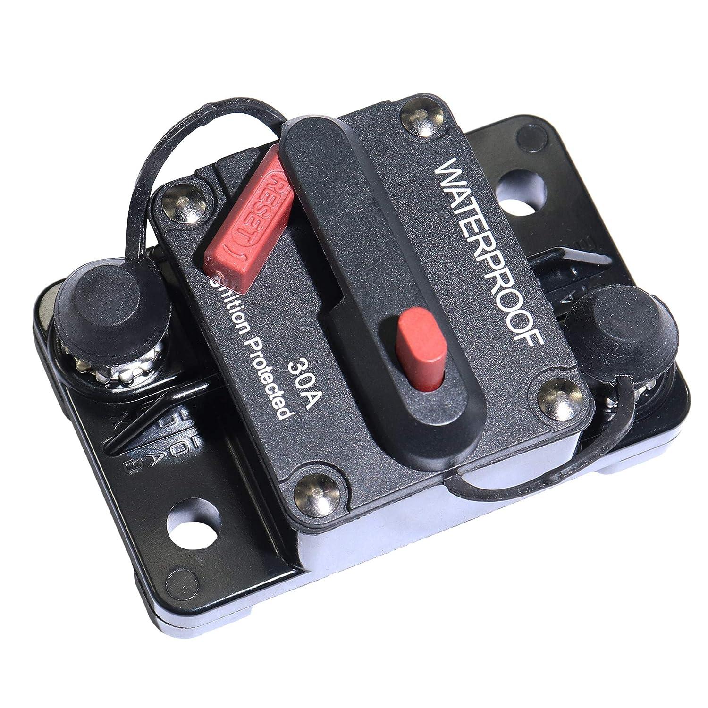 40 Amp Circuit Breaker with Manual Reset