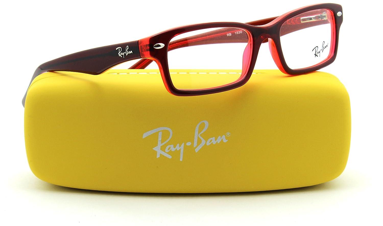 d2c79e6aa6 Amazon.com  Ray-Ban RY1530 JUNIOR Square Prescription Eyeglasses RX - able  3664