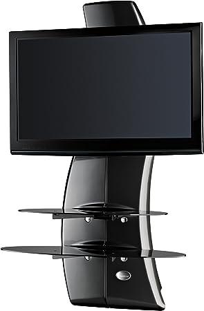 Meliconi Ghost Design 2000 - Soporte de pared para televisor de plasma/LCD entre 32