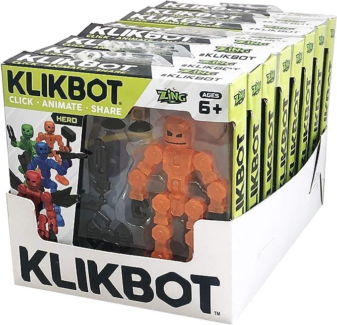 Zing klikbot Hero /& CATTIVO Ciechi Assortimento 2 Pack