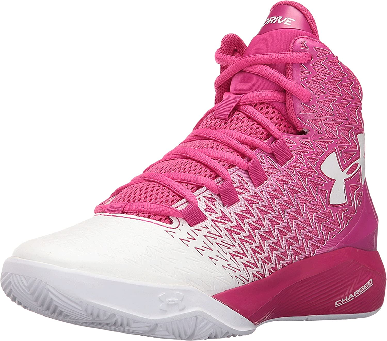 faa378aba1d Under Armour Kids Boy's UA BGS ClutchFit Drive 3 (Big Kid) Tropic  Pink/White/White Sneaker 6 Big Kid M: Amazon.ca: Shoes & Handbags