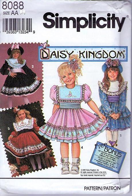 size 5-6x Vintage girls sewing patterns
